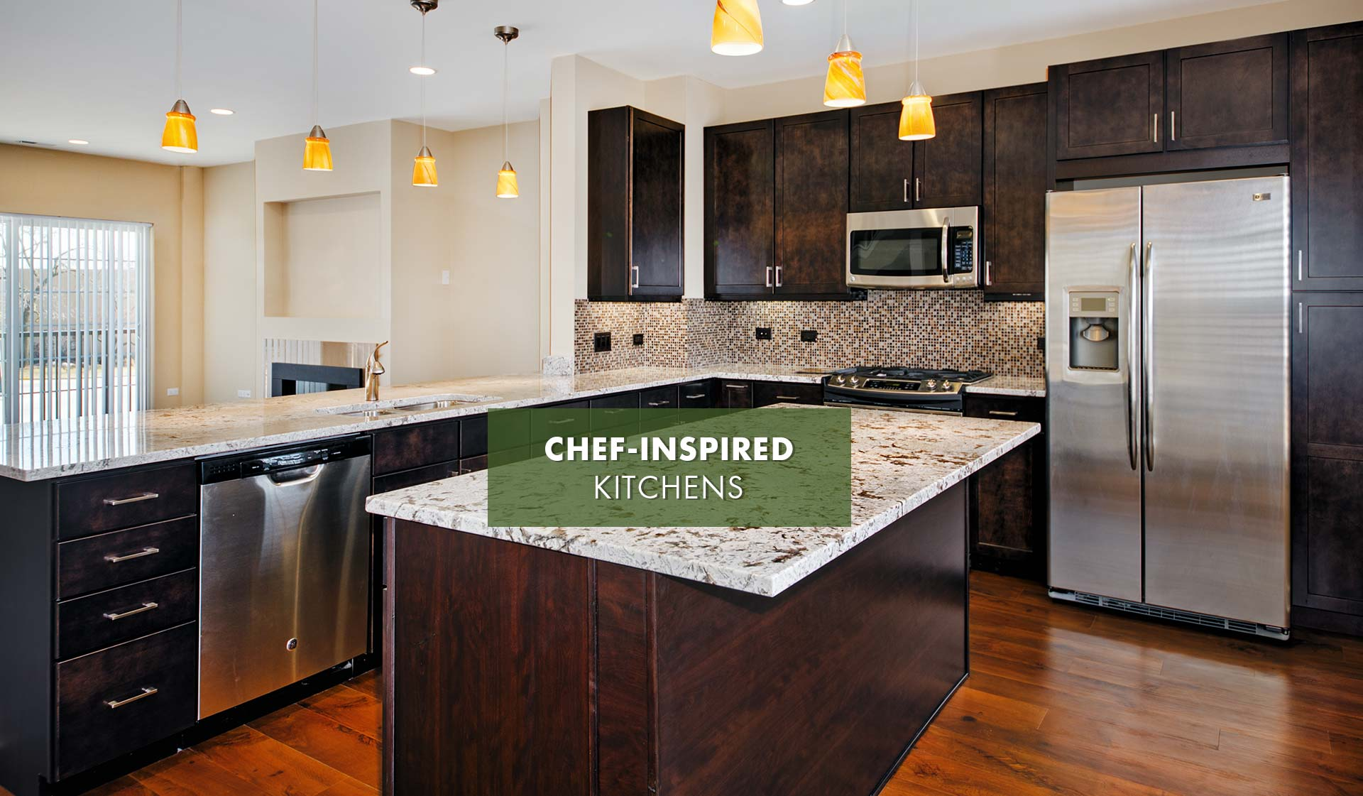 Elm Creek Apartments and Townhomes - Chef's Kitchen